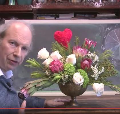An Amazing, Romantic Vase Arrangement