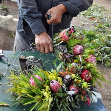 Wreath Workshop for the CA Women for Agriculture