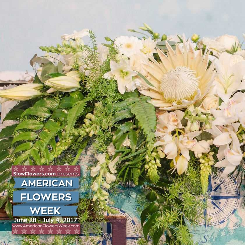 This week we celebrate American grown flowers. As we and our customers prepare for all of the fun Independence Day BBQs and festivities we encourage ...