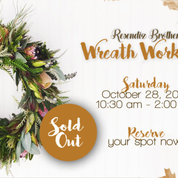 Wreath Workshop – Sold Out